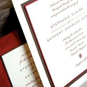 Tmx 1347055572284 Resizedrosecard Denver, Colorado wedding invitation