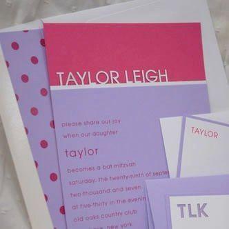 Tmx 1347056053400 Taylorleighpolkadotssquare Denver, Colorado wedding invitation