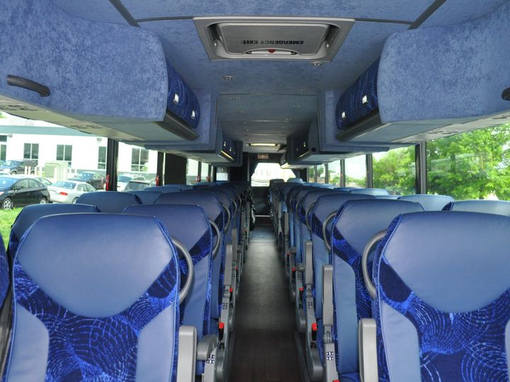 Tmx 1515625275 Dc22f1e4d93b0615 1515625271 43c727f18e91102e 1515625265027 4 Coach Interior 4 Rockville wedding transportation