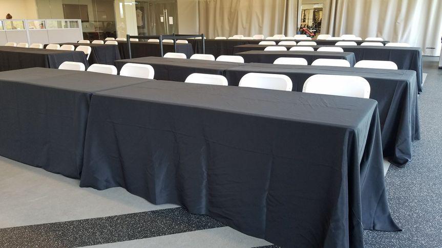 Business Meeting setup