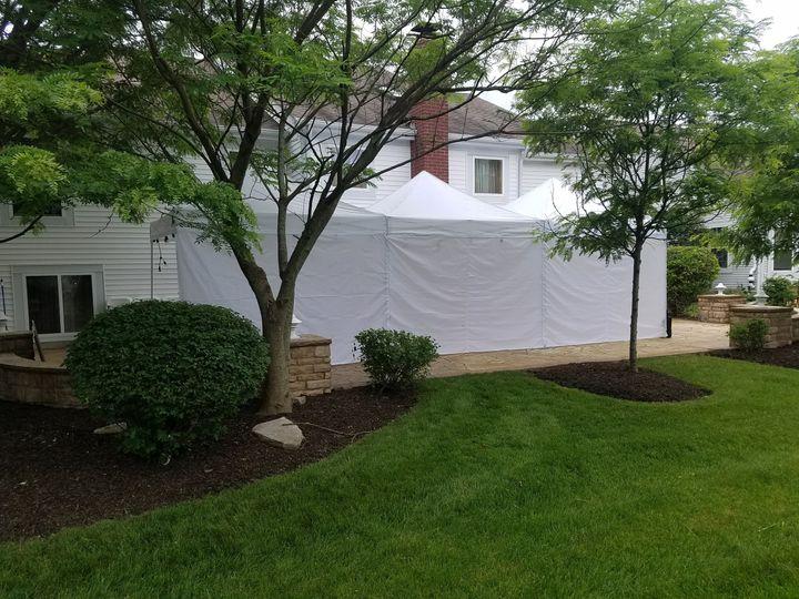 10'x10' pop up tents