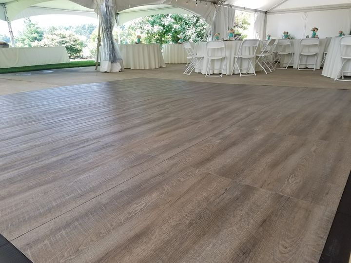 Smoke Oak Dance floor