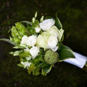 Tmx 1423920923571 Green Artichoke Rose White Orchid Bouquet 300x300 Ellicott City, MD wedding florist