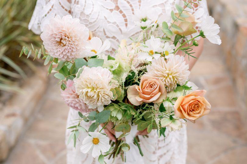 Elopement bouquet