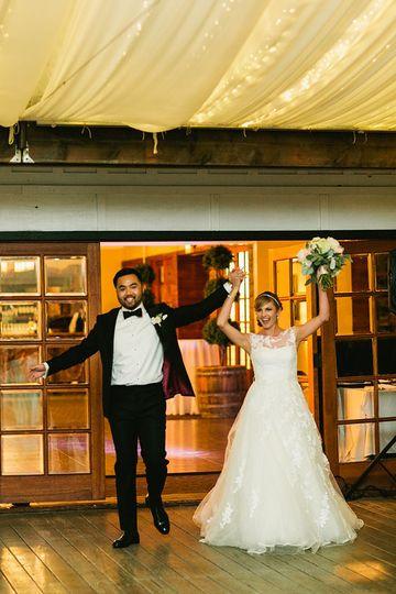 calamigos wedding pavillion entrance