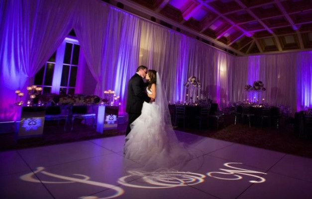 Tmx 1383690765290 Purple Up Lights With Monogra San Clemente, CA wedding dj