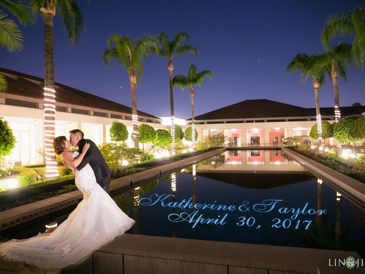 Tmx Nixon Library Wedding Monogram On Water 51 447750 157629552323949 San Clemente, CA wedding dj