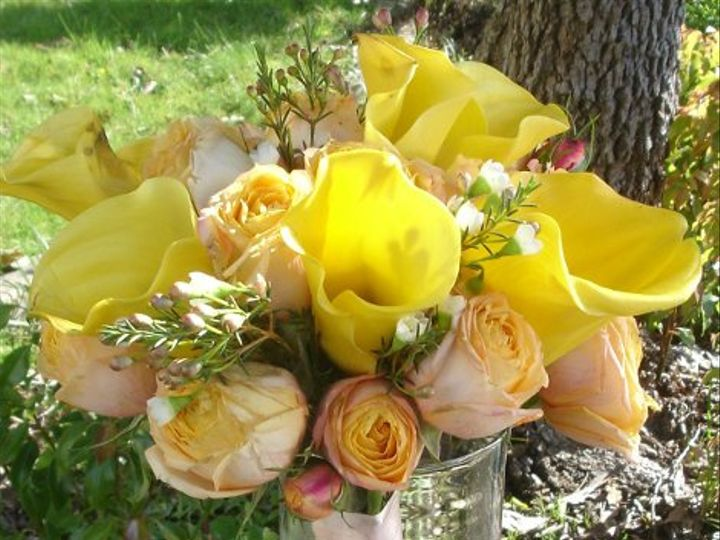 Tmx 1296250072319 Yellowbouquet Kenwood wedding florist