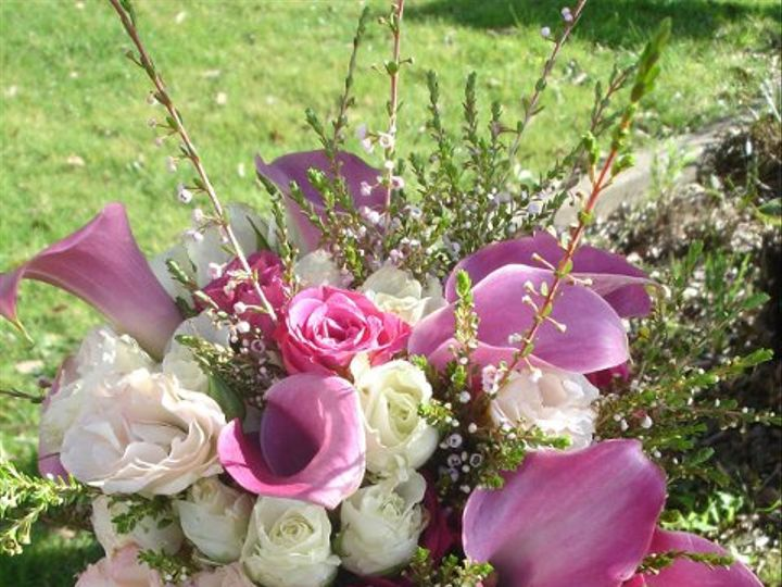 Tmx 1296250139007 Pinkbouqet Kenwood wedding florist