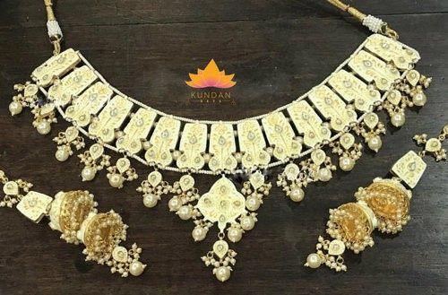 Tmx Gold Meenakari Necklace Set 51 948750 1569615969 Sterling Heights wedding jewelry