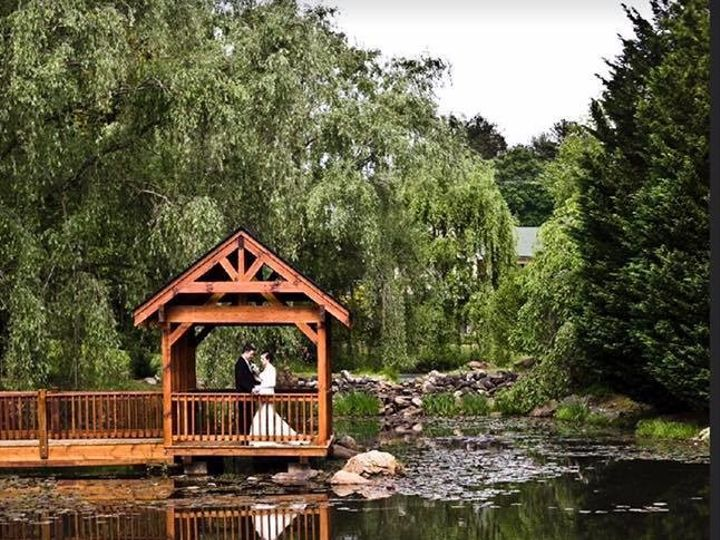 Tmx 1503678918510 Pond Ceremony Site Asheville Asheville, North Carolina wedding venue
