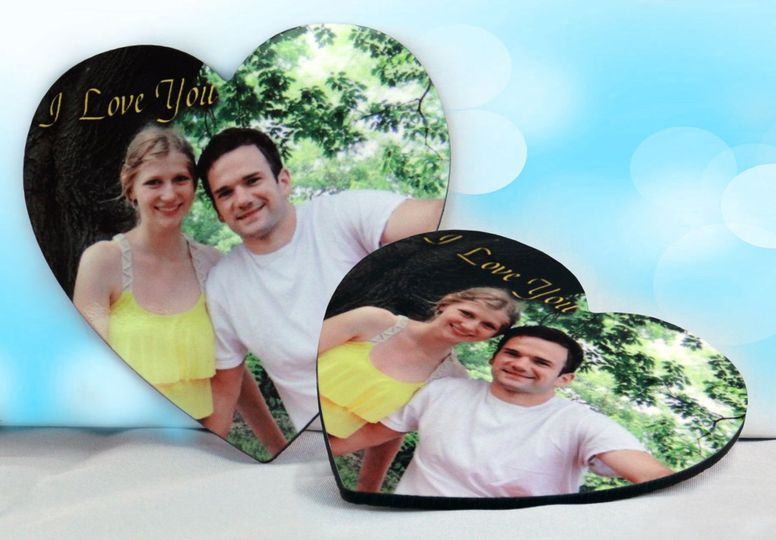 These classy heart coasters are a great way to remember special times!