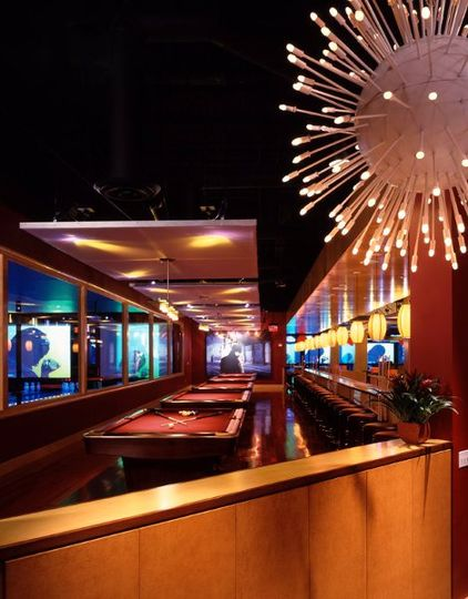 Our Billiards Area has 5 tables. It is located right next to our private room and can be transformed...