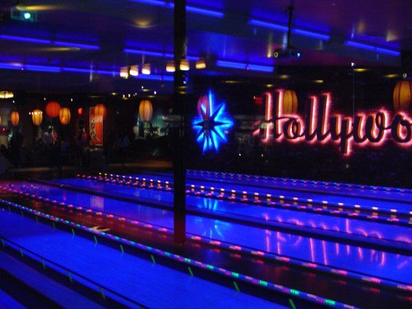And of course our bowling lanes. Create a fun competition amongst family members at your dinner...