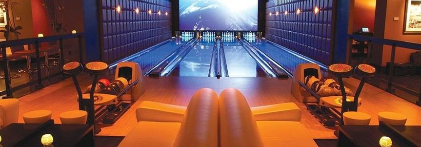 Bowling area