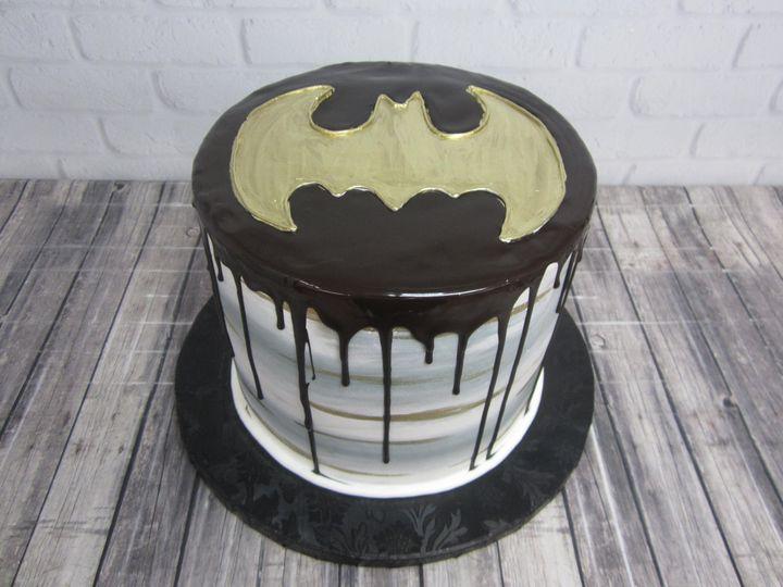 Tmx Batman Ganache Grooms Cake 2 51 24850 Tulsa, OK wedding cake
