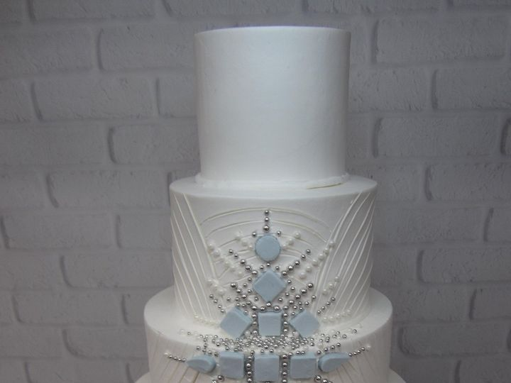 Tmx Custom Cake Buttercream Jewels 1 51 24850 Tulsa, OK wedding cake