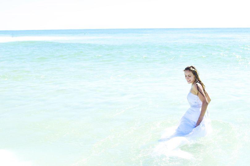 bridal wedding photograph