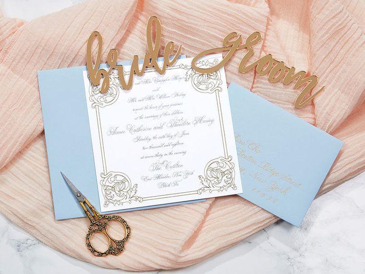 Tmx 1536232510 56f8a944f34d53db 1536232509 16a5206534095713 1536232505042 3 Claude Duroseau 6 Kew Gardens, NY wedding invitation