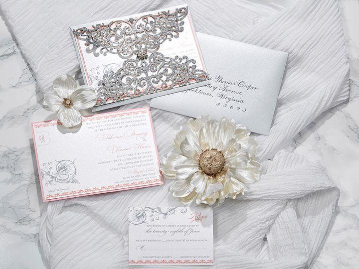 Tmx 1536232518 9370392fe6390526 1536232516 72c32936cc740ba1 1536232515225 4 Claude Duroseau 1 Kew Gardens, NY wedding invitation