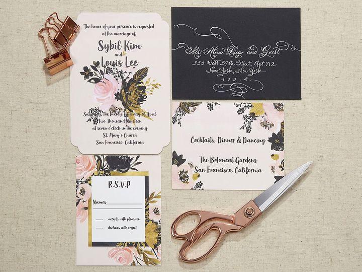 Tmx 1536661124 15d5f528f6667e5c 1536661123 457a0b477b0b594d 1536661121626 1 Claude Duroseau 9 Kew Gardens, NY wedding invitation