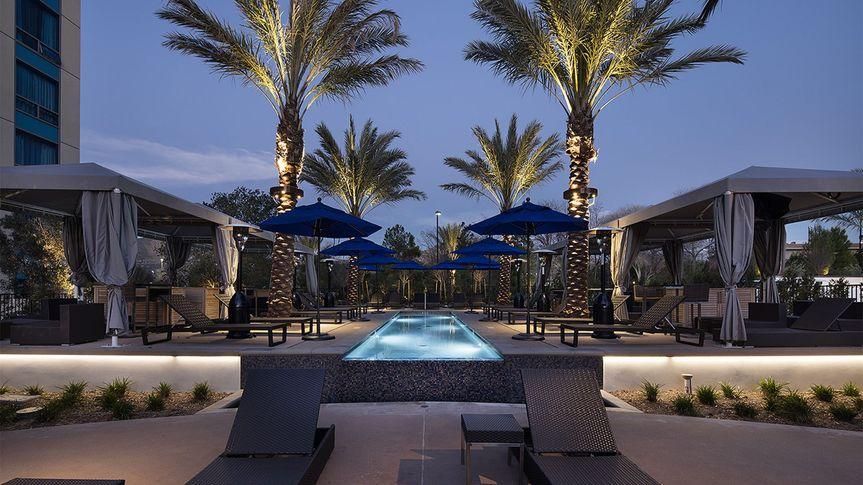 Viejas resort pool