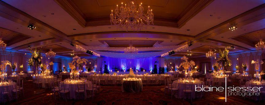 Reception in the ballroom