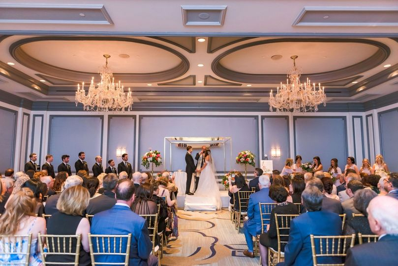 Plaza Wedding Ceremony