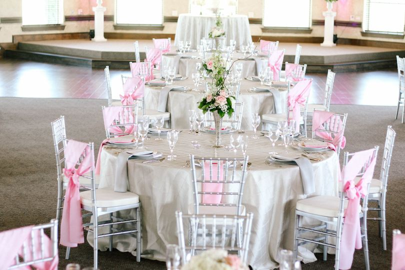 Wedding Reception in The Oaks Ballroom