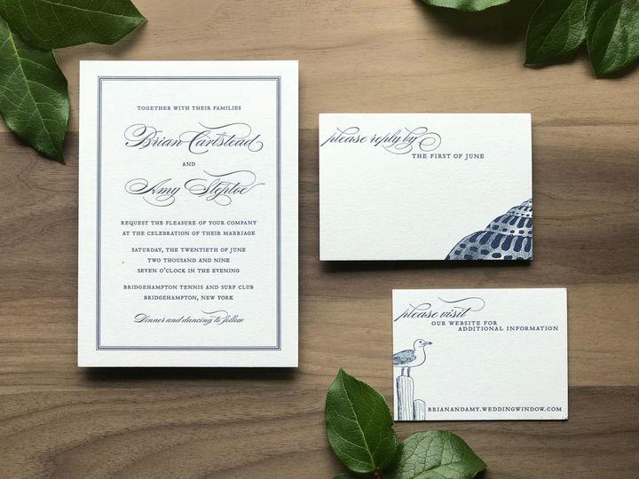 Tmx 1523802093 20c1e6f808da663d 1523802089 Eedd7df3139ed6b8 1523802087217 7 AMY Invite 1 Farmingdale wedding invitation