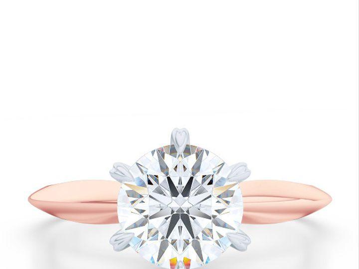Tmx 1438385954844 Bashert Jewelry. Evening Star. Classic Six Prong S Boca Raton wedding jewelry