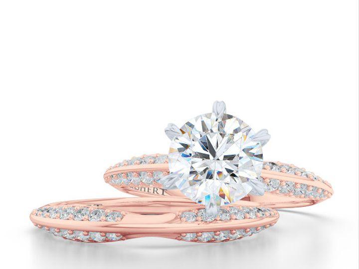 Tmx 1438385996901 Bashert Jewelry. Night Sky. Classic Six Prong Soli Boca Raton wedding jewelry