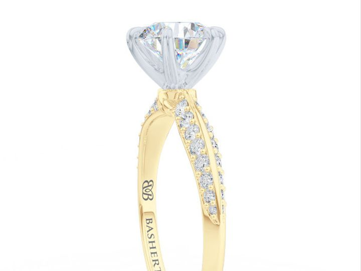 Tmx 1438386002079 Bashert Jewelry. Night Sky. Classic Six Prong Soli Boca Raton wedding jewelry