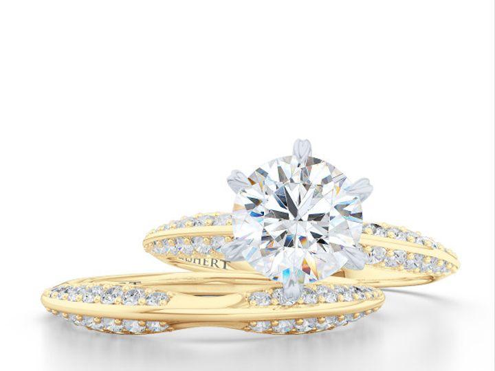 Tmx 1438386004350 Bashert Jewelry. Night Sky. Classic Six Prong Soli Boca Raton wedding jewelry