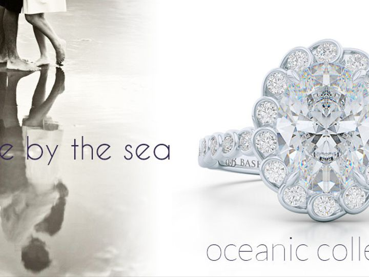 Tmx 1438388890332 Ask Me By The Sea. Oceanic Collection. Custom Halo Boca Raton wedding jewelry