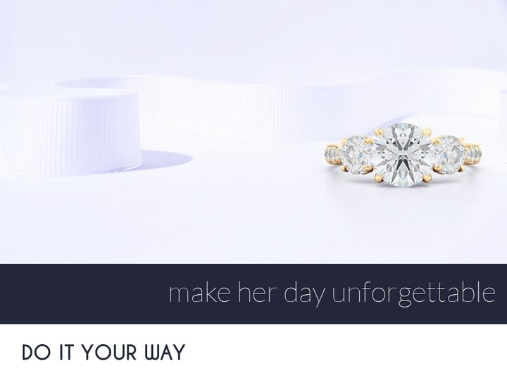 Tmx 1438388896139 Bashert Jewelry. Custom Diamond Engagement Rings A Boca Raton wedding jewelry