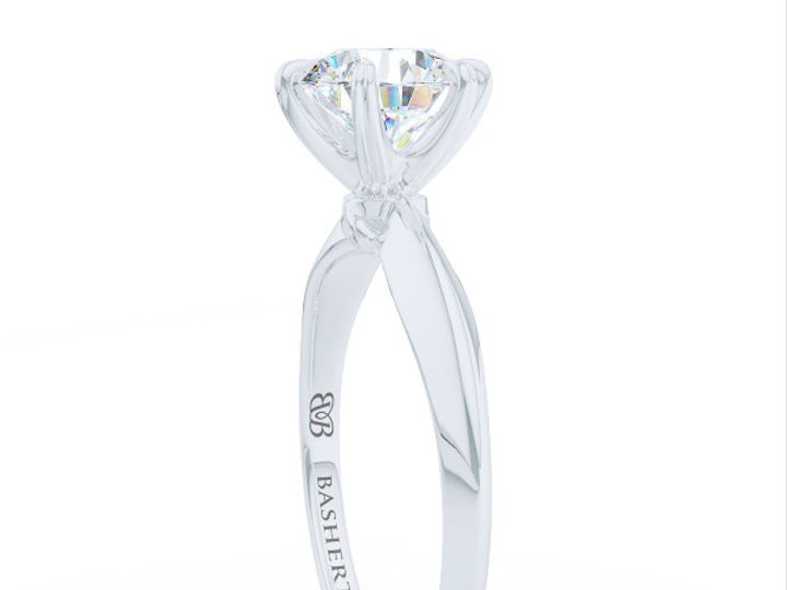 Tmx 1438895387972 Bashert Jewelry. Evening Star. Classic Six Prong S Boca Raton wedding jewelry