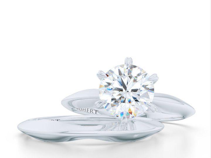 Tmx 1438895394662 Bashert Jewelry. Evening Star. Classic Six Prong S Boca Raton wedding jewelry