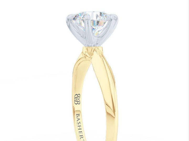 Tmx 1438895400526 Bashert Jewelry. Evening Star. Classic Six Prong S Boca Raton wedding jewelry