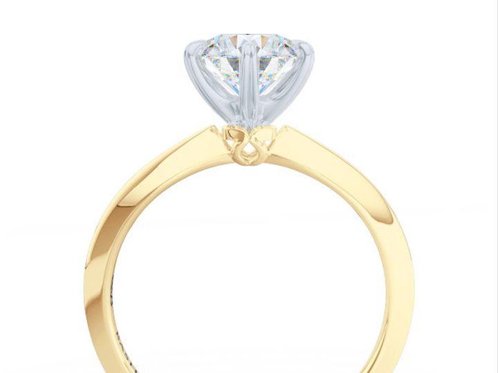 Tmx 1438895403865 Bashert Jewelry. Evening Star. Classic Six Prong S Boca Raton wedding jewelry
