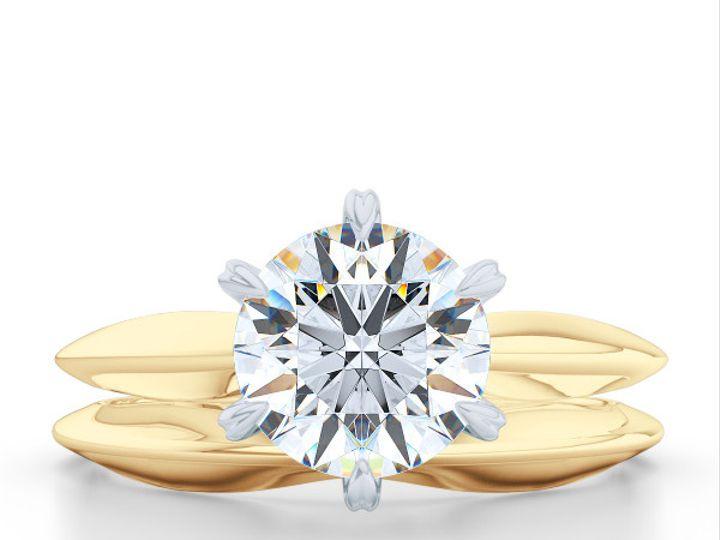 Tmx 1438895406476 Bashert Jewelry. Evening Star. Classic Six Prong S Boca Raton wedding jewelry