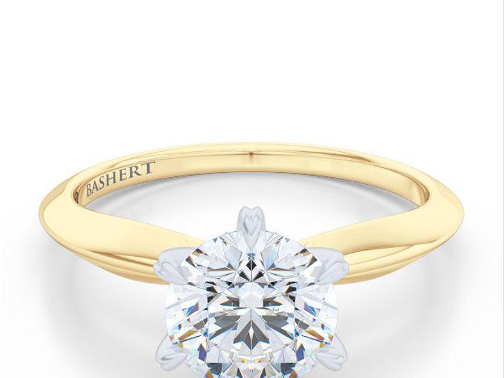 Tmx 1438895410074 Bashert Jewelry. Evening Star. Classic Six Prong S Boca Raton wedding jewelry