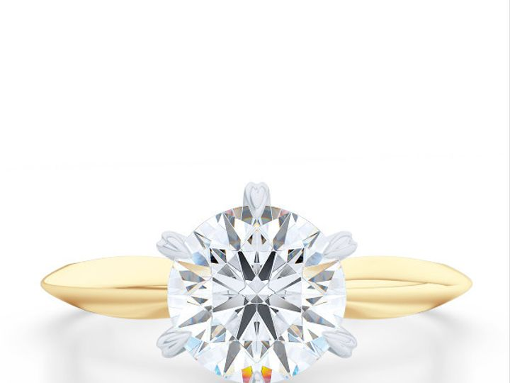 Tmx 1438895412699 Bashert Jewelry. Evening Star. Classic Six Prong S Boca Raton wedding jewelry