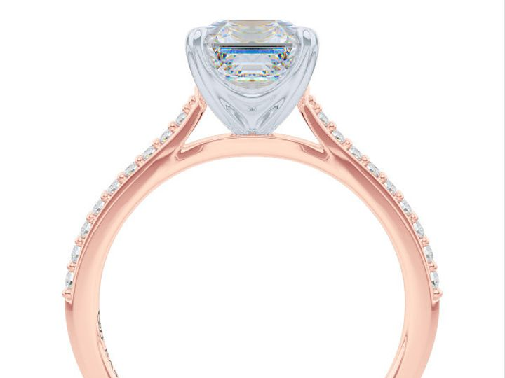 Tmx 1438895784582 Classic Asscher Cut Solitaire Engagement Ring In R Boca Raton wedding jewelry