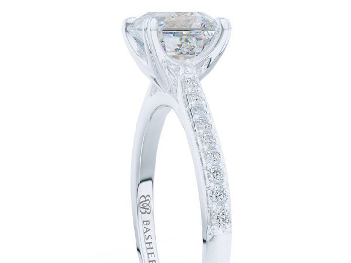 Tmx 1438895792188 Classic Asscher Cut Solitaire Engagement Ring In W Boca Raton wedding jewelry
