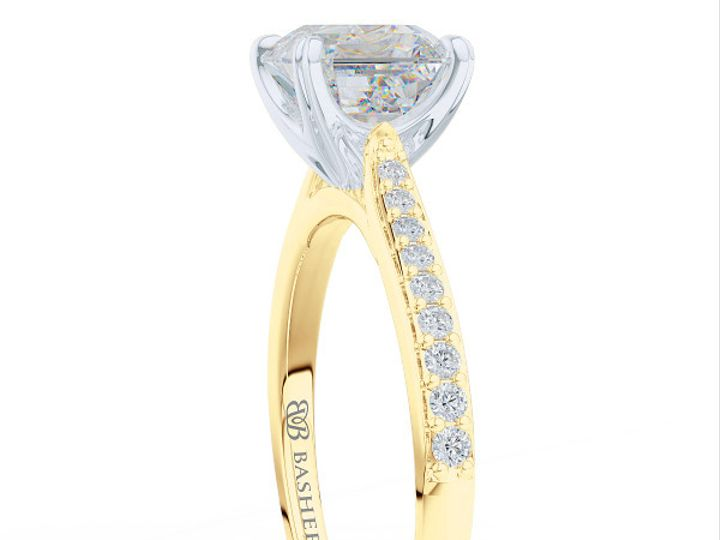 Tmx 1438895800868 Classic Asscher Cut Solitaire Engagement Ring In Y Boca Raton wedding jewelry