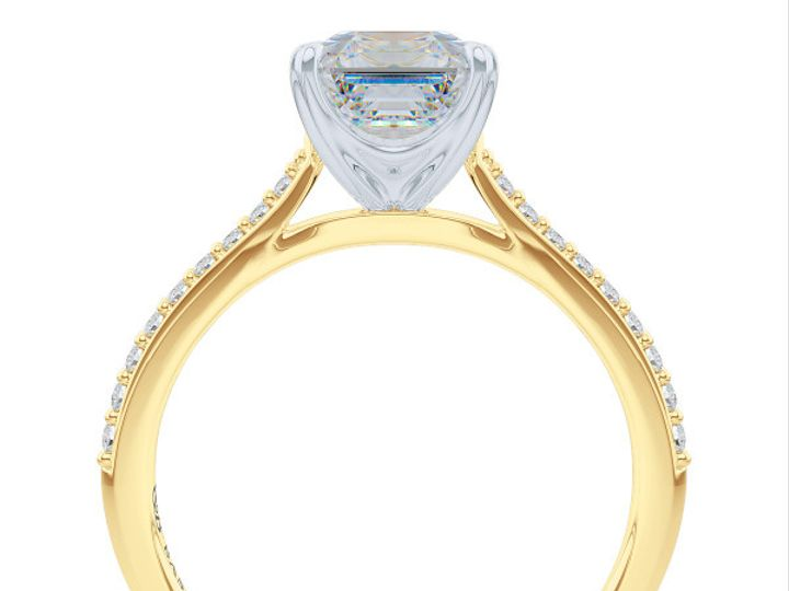 Tmx 1438895804015 Classic Asscher Cut Solitaire Engagement Ring In Y Boca Raton wedding jewelry
