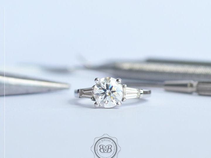 Tmx 1438977315172 Three Stone Engagement Boca Raton wedding jewelry