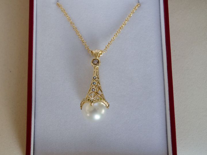 Tmx 1438978368589 Parispendantbashertjewelry 4 Boca Raton wedding jewelry