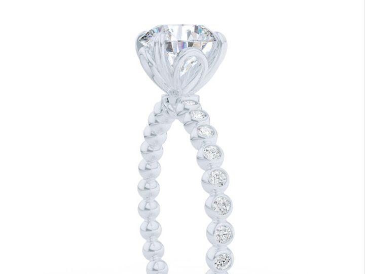 Tmx 1439217628185 Diamond Solitaire Engagement Ring In White Gold An Boca Raton wedding jewelry